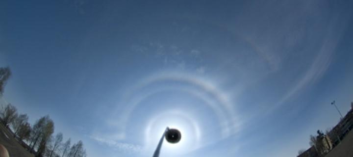 Odd radius column arcs from Joensuu