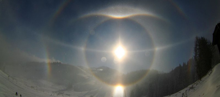 Halo display from Upper Bavaria