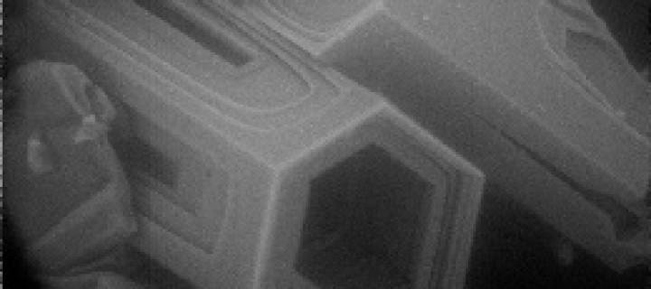 ESEM column crystal photo