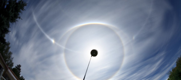 A mid-summer multihalo in Finland