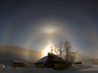 46 degree halo from Davos
