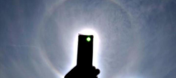 High-sun parry arc in Ohio USA 8-22-08