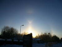 The brightest halo in a display: the Moilanen arc