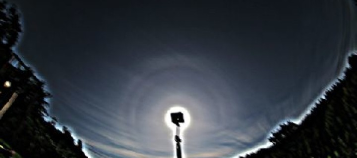 Odd radius halos in Nydek