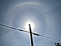 Pyramidal halos in central Virginia