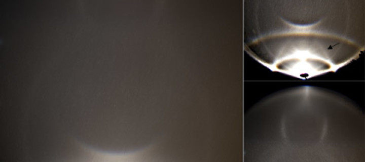 Reflected Lowitz arcs in 7/8 December display