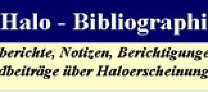 Halo bibliography