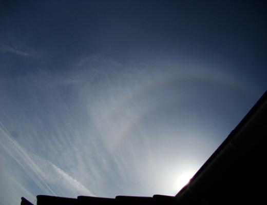 Odd radius halo – 2 April