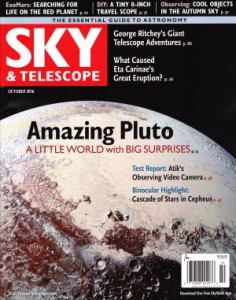 Sky and Telescope, 2016, vol, 132, no 4, october
