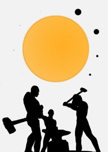 Kolme Seppää ja aurinkokunta