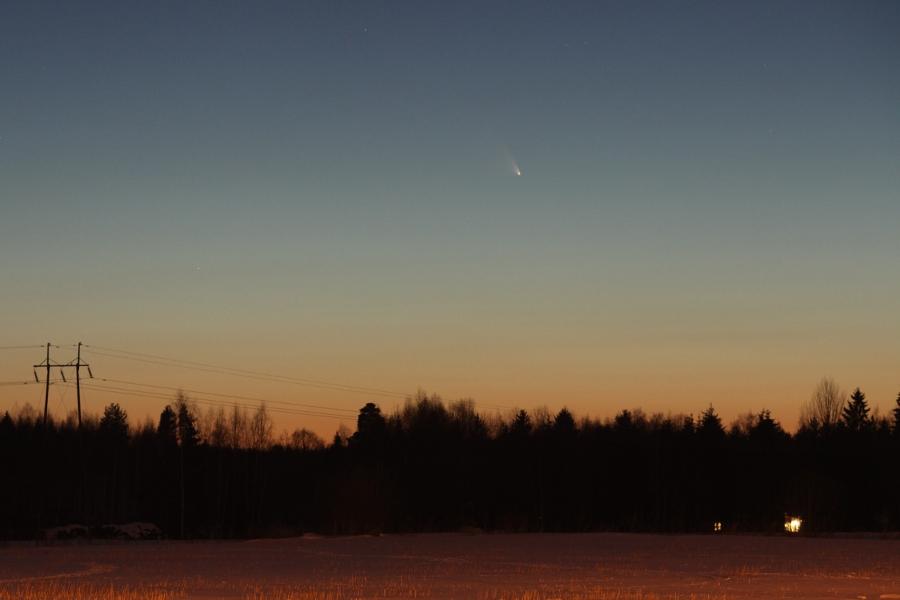 Komeetta C/2011 L4 (PANSTARRS) oli keväällä 2013 paljain silmin näkyvä kohde