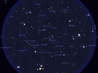 Tapahtumat taivaalla huhti-toukokuussa 2014