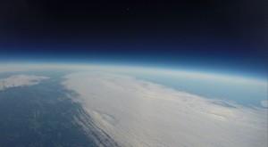 Vielä toinen kuva Katternö Skywatchersin pallon lennolta. Kuva: Katternö Skywatchers.