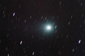 Komeetta Lovejoy 12.1.2015. Kuva: Toni Veikkolainen.