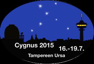 Cygnuksen 2015 logo.
