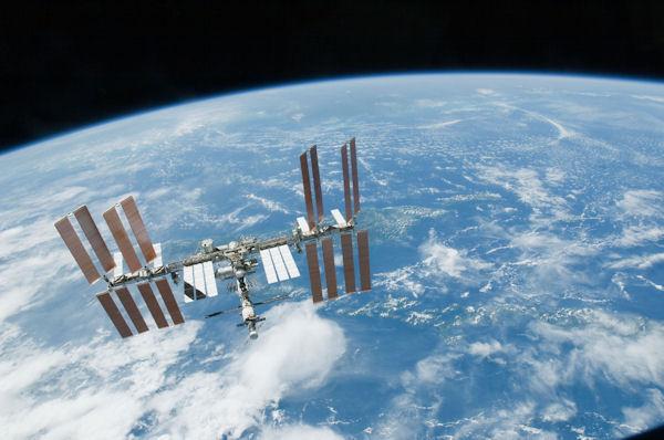 Avaruusasema ISS (Kuva: NASA)