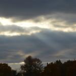 Pilvisäteet ja heijastuneet pilvisäteet 20.10.2015