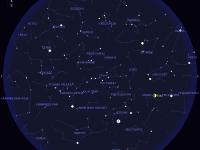 Tapahtumat taivaalla huhti-toukokuussa 2016