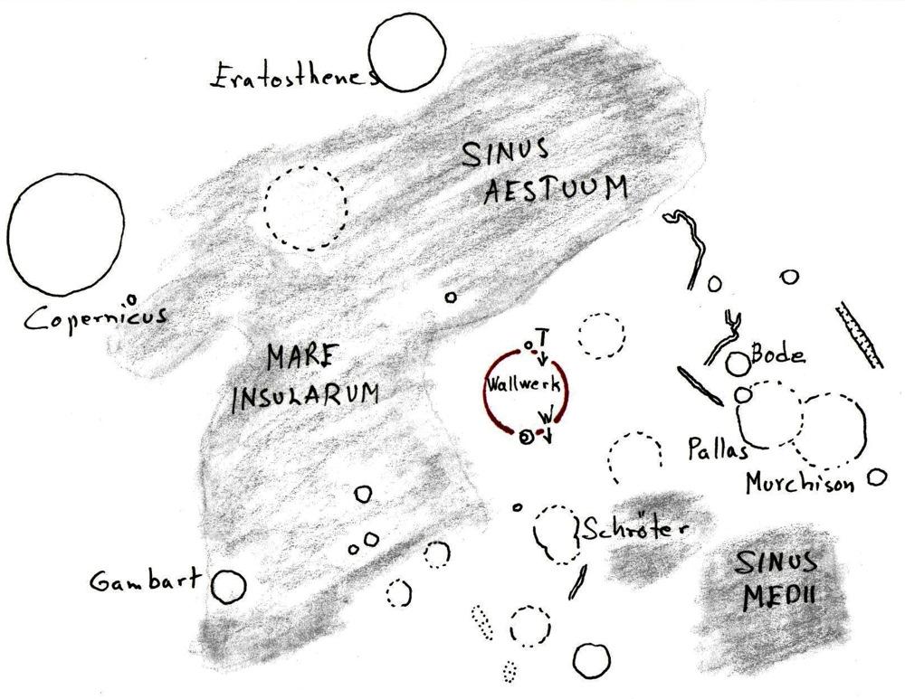 Etsintäkartta Wallwerk-kuukaupunki