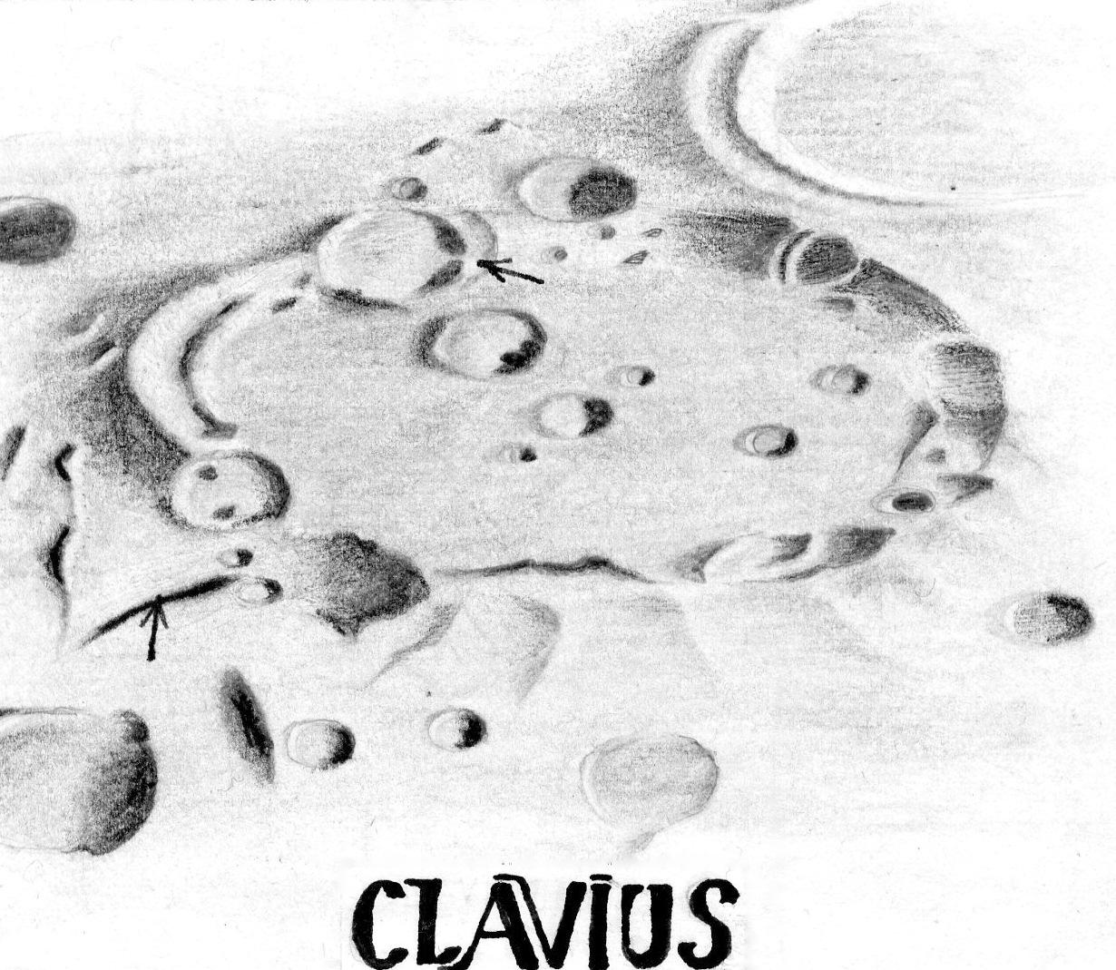Kuva 17: Clavius, Lukkari 1.8.1983