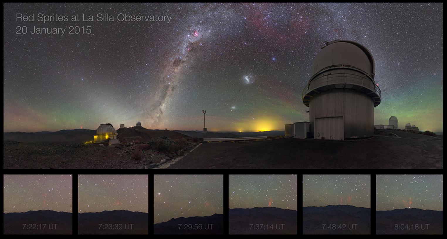 Tsekkiläisen Petr Horálekin upea kuvasarja La Sillan observatoriolta kuvattuna 20.1.2015