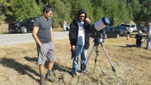 Chileläisiä harrastaja-astronemeja, Kari Helander