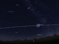 Avaruusasemaa voi tarkkailla nyt iltaisin