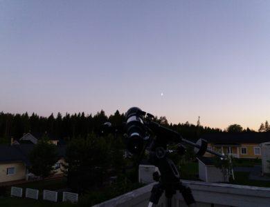 Keskikesän keskiyö – mitä näkyy?