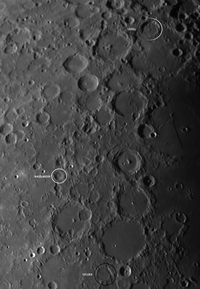 Kuva 3a, Gylden-Argelander-Lexell, Haavisto, 6.1.2017
