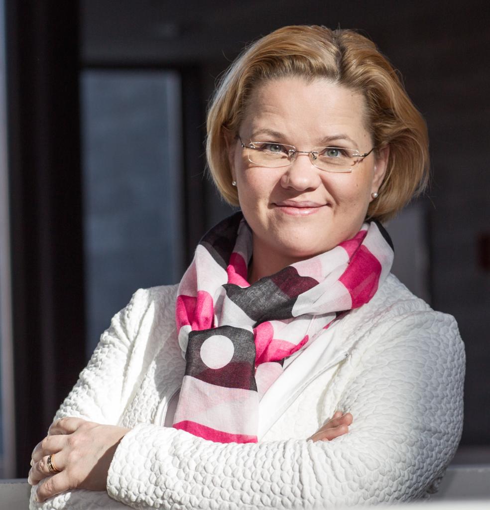 Minna Palmroth, kuva: Helsingin yliopisto/Linda Tammisto.