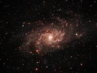 Kolmion galaksi Rovaniemen taivaalta