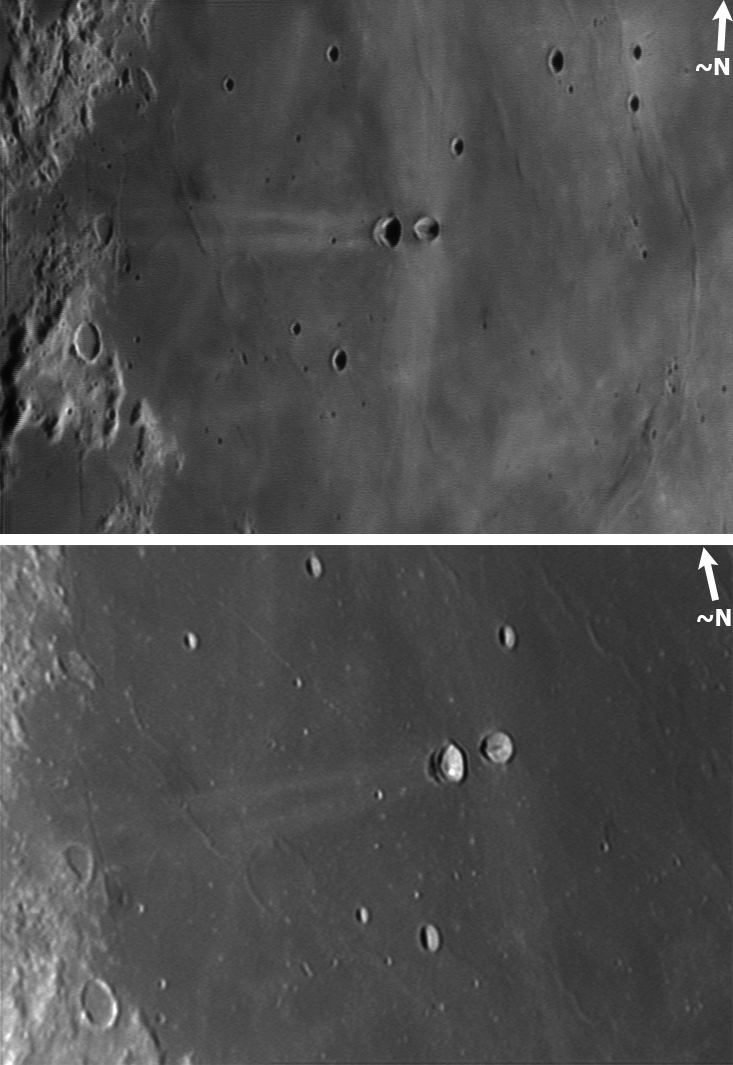 Kuva 13: Messierit, Kantola 8.2.2004 ja 31.1.2009