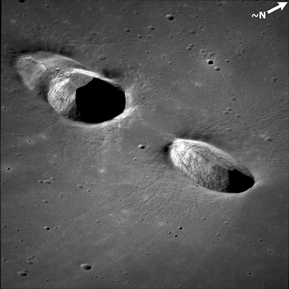 Kuva 15: Messierit, LPI AS11-42-6305