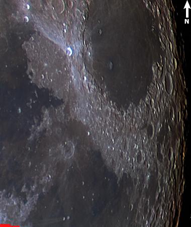 Kuva 4: Proclus+Messierit, väri, Syynimaa 23.11.2018
