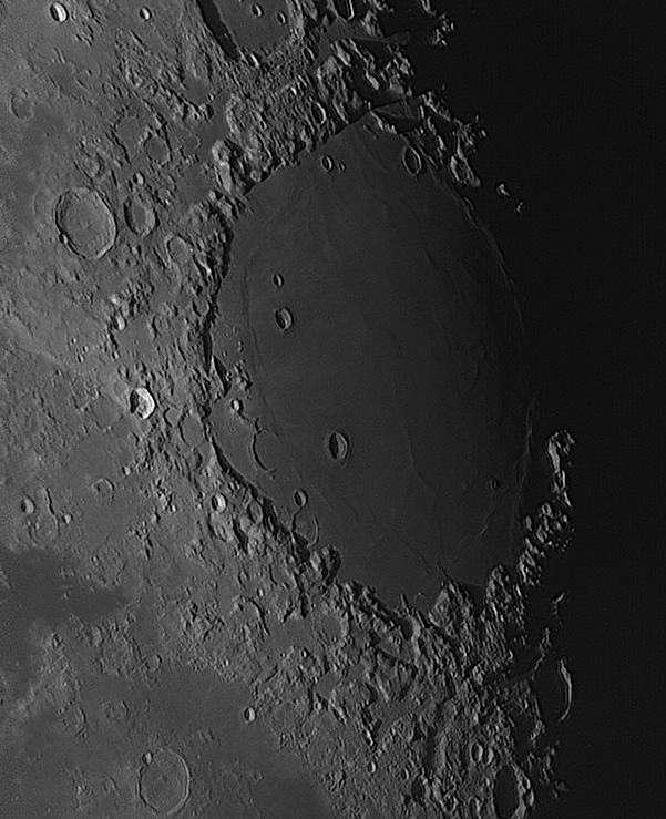 Kuva 7: Proclus+Mare Crisium, Järvinen 28.12.2015