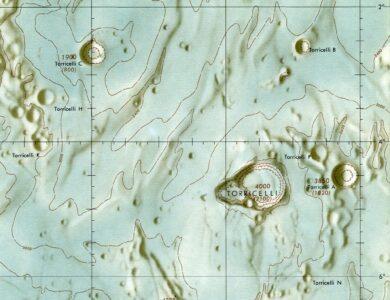 Kuun ohimenevät ilmiöt  – tapaus Torricelli B