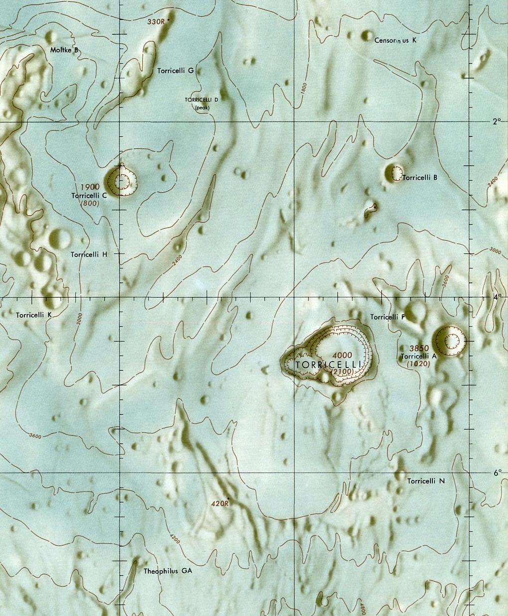 Torricelli kartta LAC