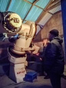 KY-seminaari, LOMO-teleskooppi