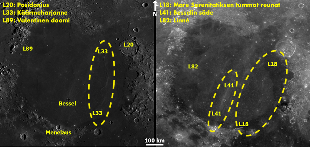Mare Serenitatis. Kartta: NASA / ASU / LRO WAC / QuickMap / T. Öhman.