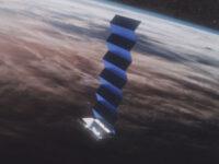 Starlink-satelliitit näkyvät etelähorisontissa