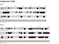 Kelikalenteri helmi-maaliskuu 2020