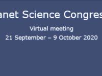 EPSC 2020 – Tiedekonferenssi virtuaaliseen tapaan