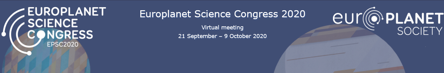 EPSC 2020 virtual conference