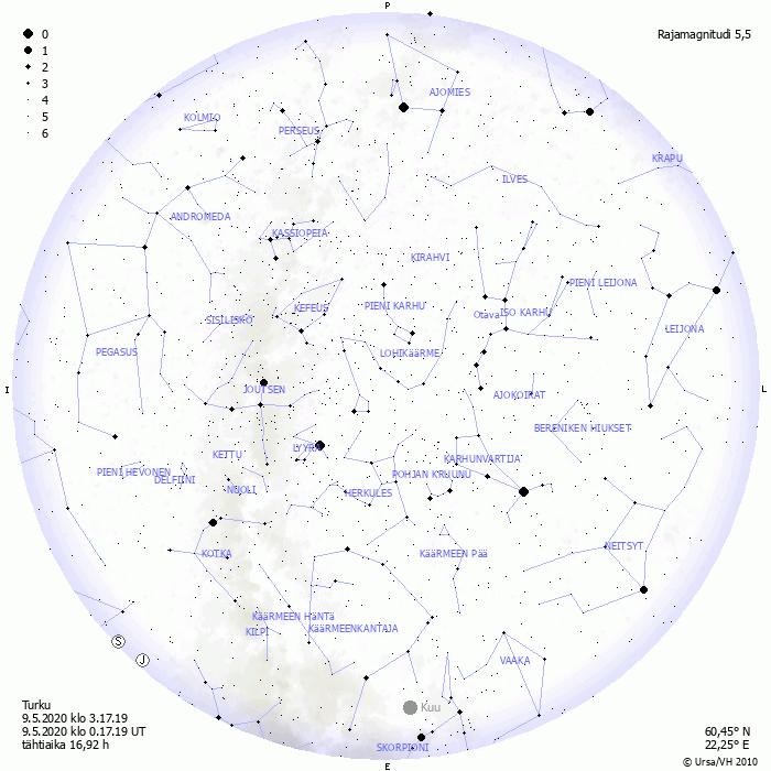 Ursa Tähtikartta