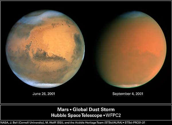 Mars Ilmakehä